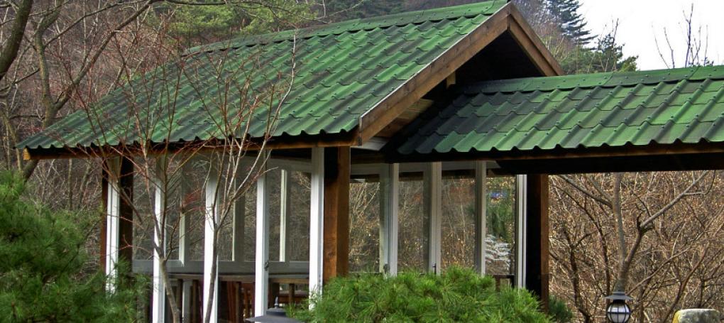 Anexo com telha ecológica Onduvilla