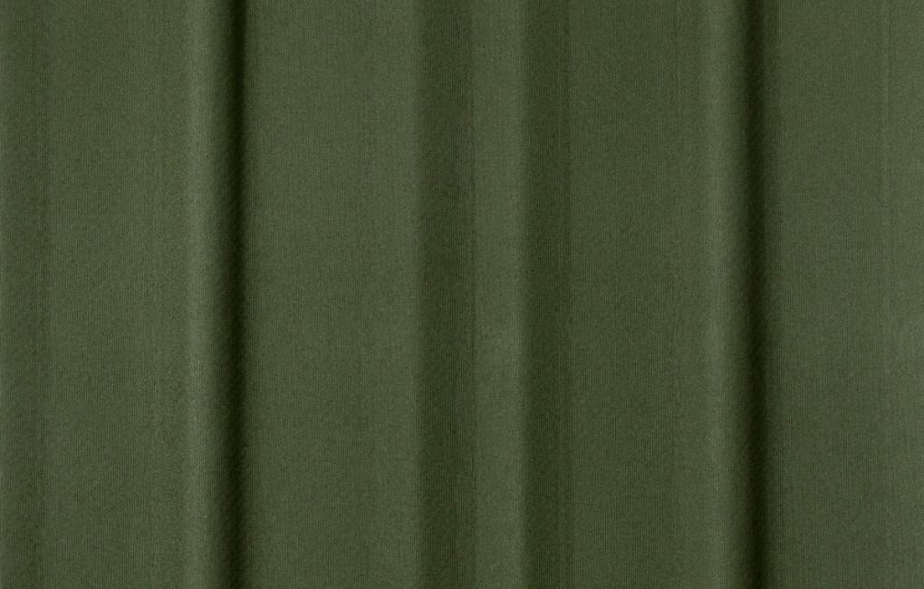 Detalhe de tapume ecológico cor verde
