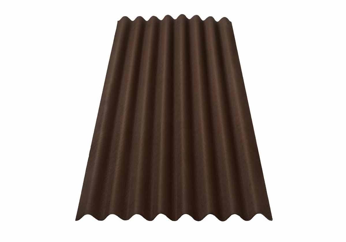 Onduline Clássica Fit® | foto da telha ecológica na cor marrom