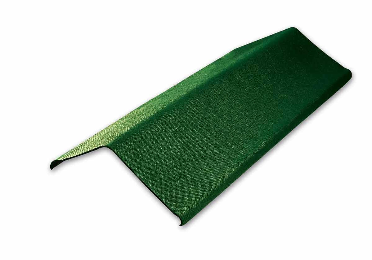 Acabamento Lateral Onduline | foto do produto na cor verde