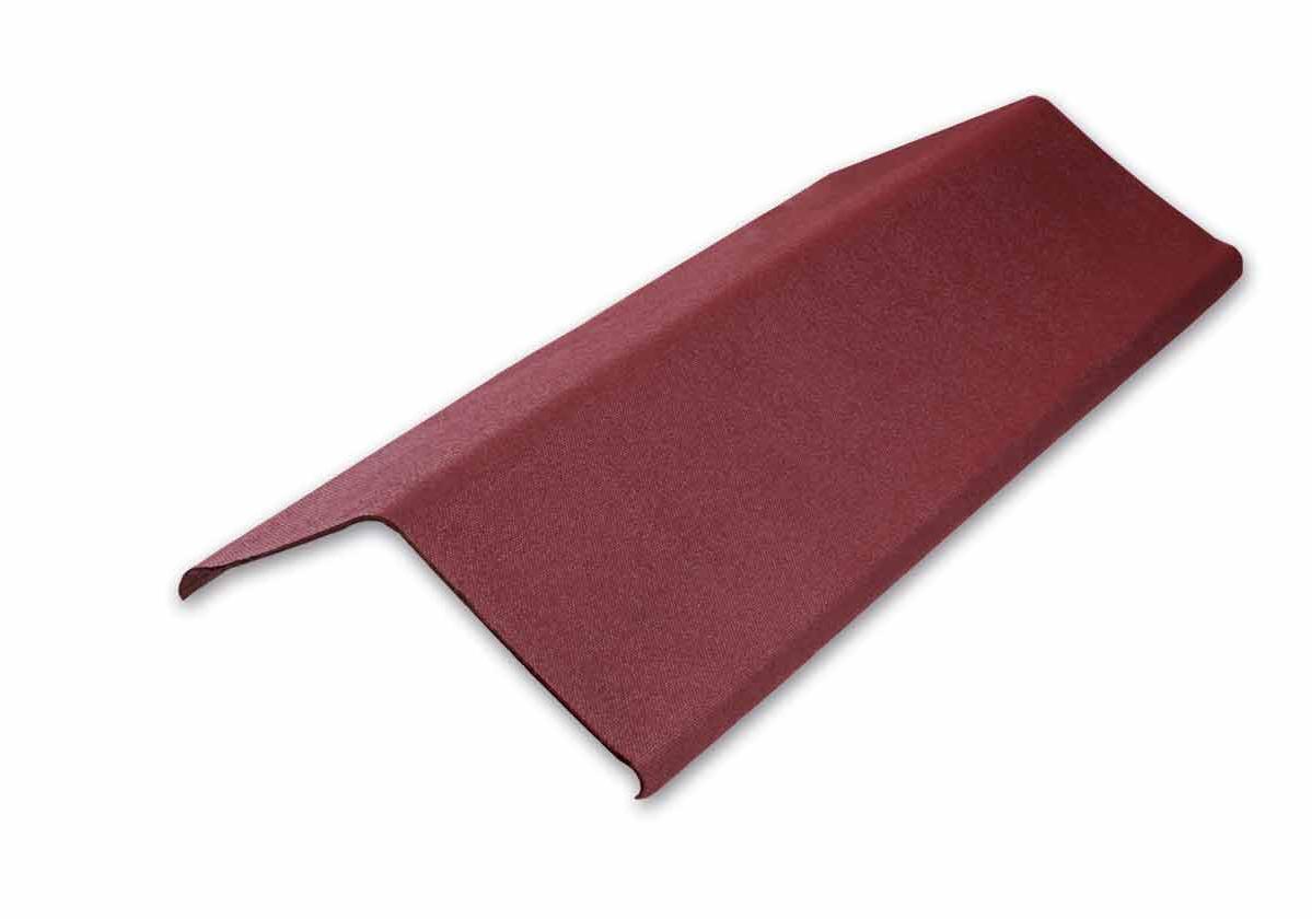 Acabamento Lateral Onduline | foto do produto na cor vermelha