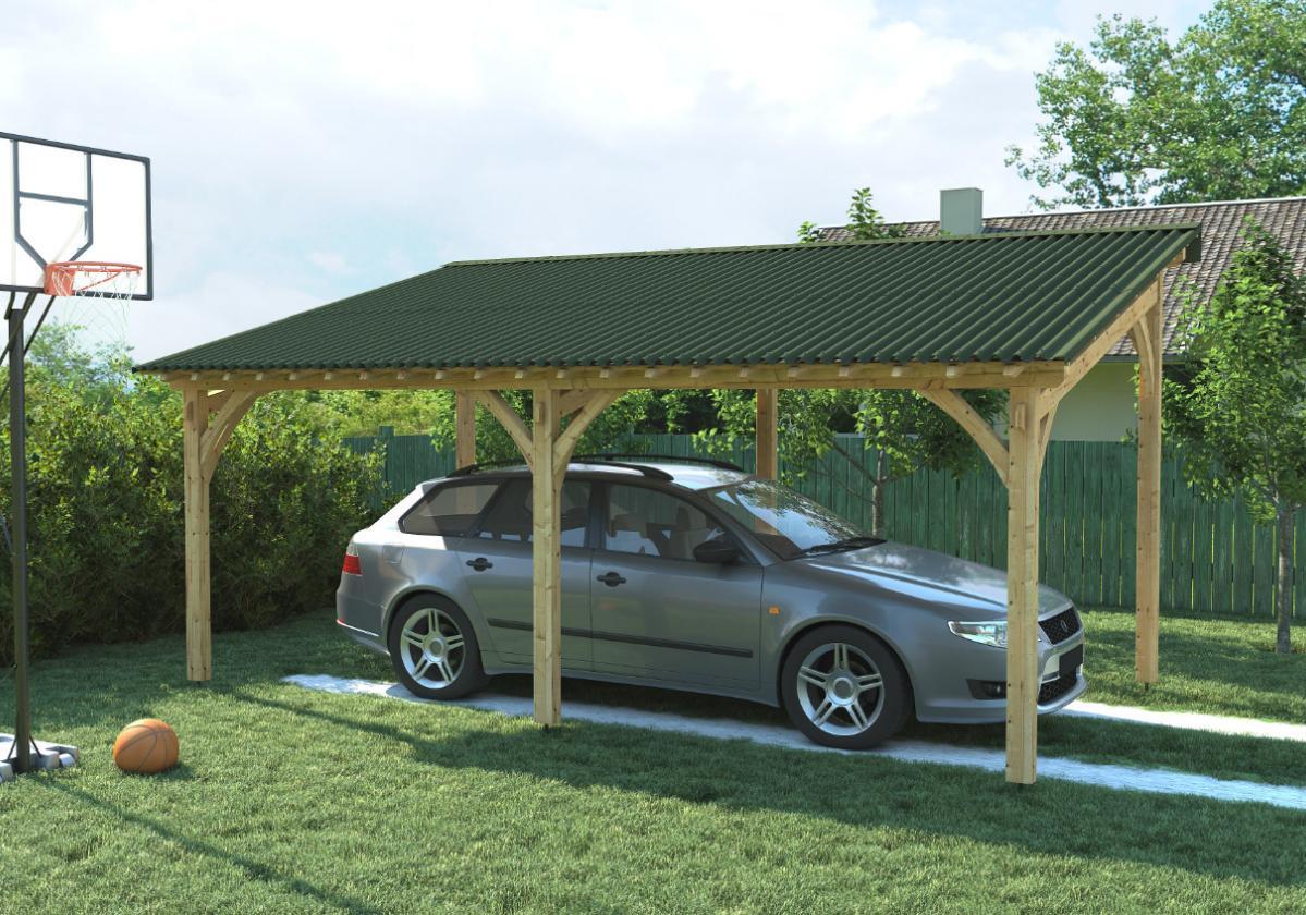 Onduline Clássica Fit® | foto de aplicação com telha ecológica na cor verde