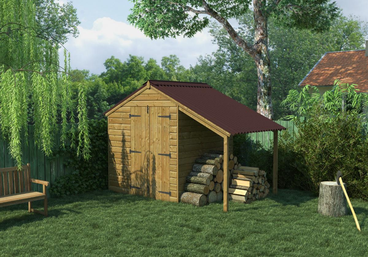Onduline Clássica Fit® | imagem aplicação da telha ecológica na cor marrom