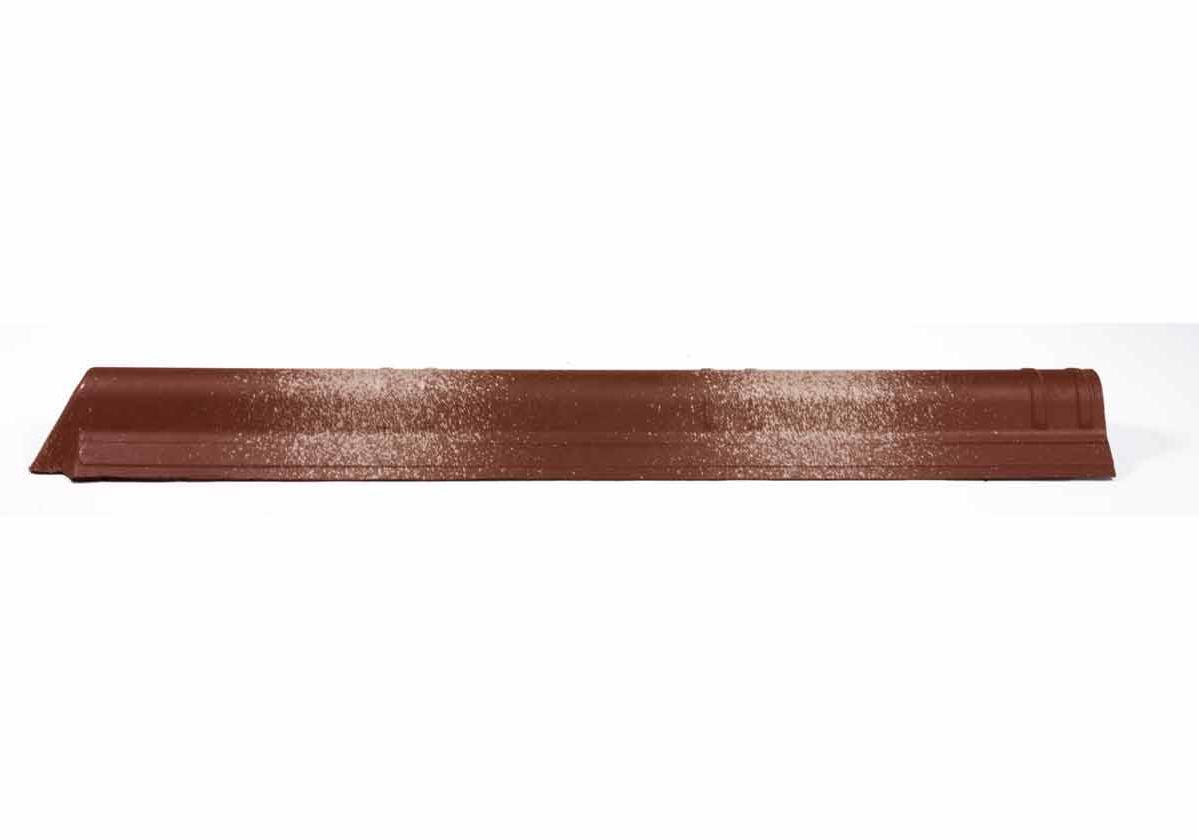 Fechamento de Cumeeira Slim Onduvilla | foto do produto na cor Torino Brown
