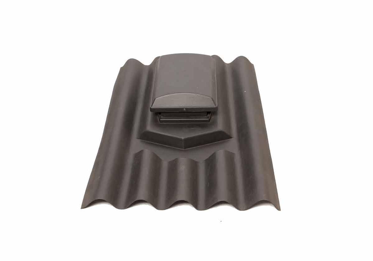 Telha de Ventilação Onduline | foto do produto na cor preta