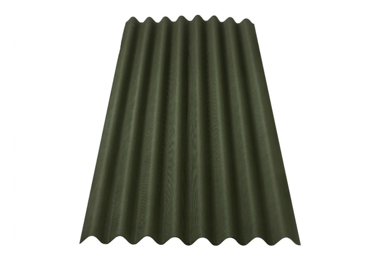 Onduline Clássica Fit® | foto da telha ecológica na cor verde