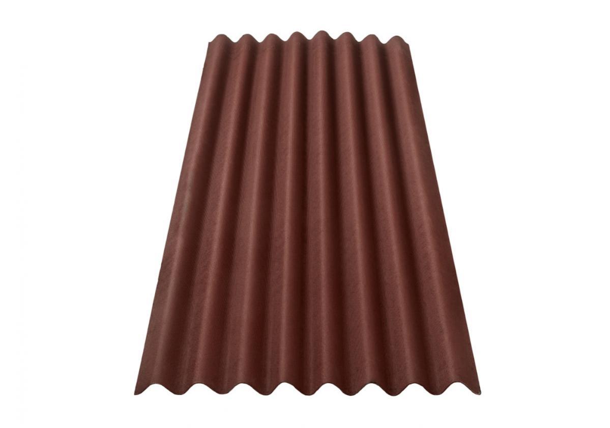Onduline Clássica Fit® | foto da telha ecológica na cor vermelha