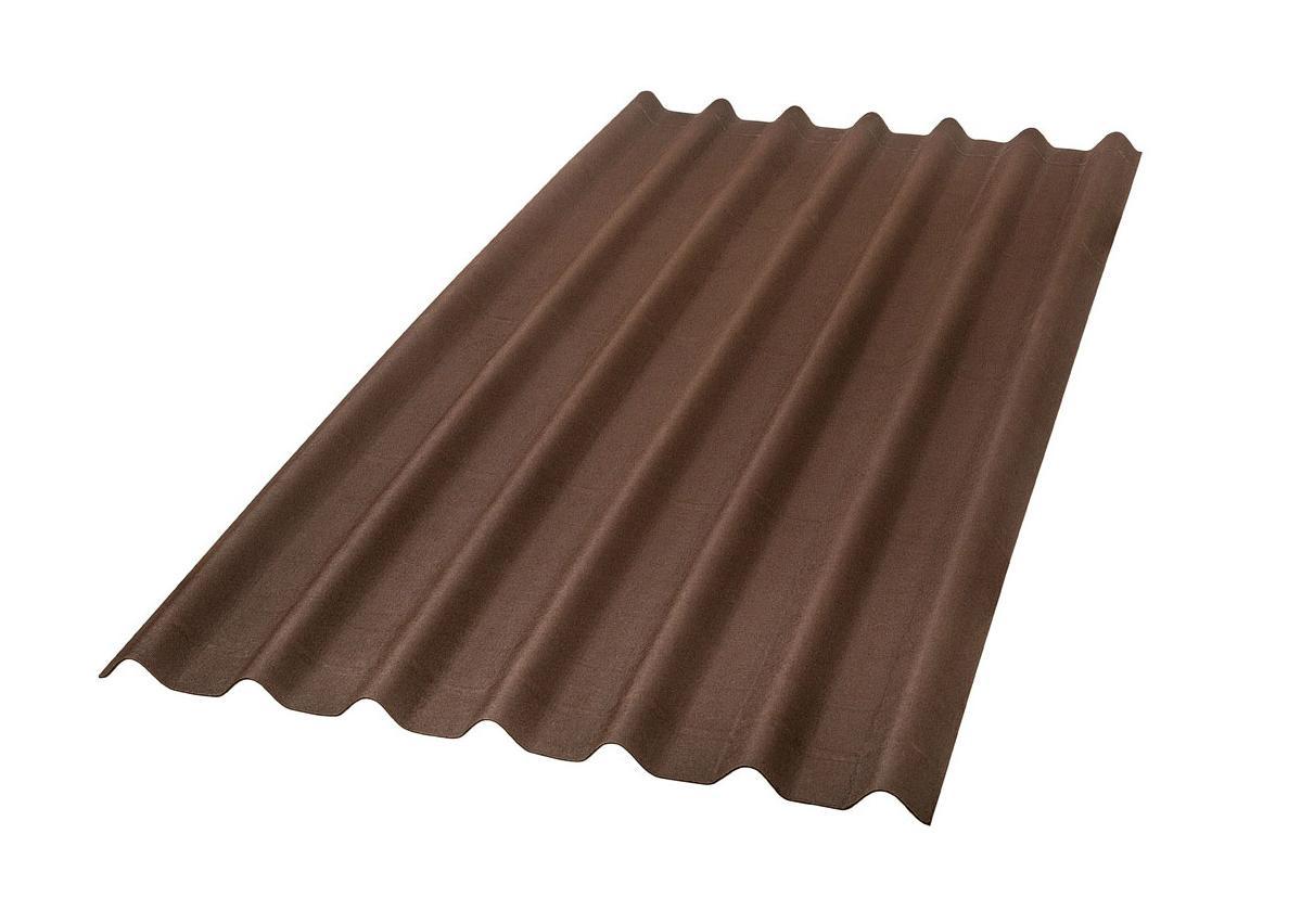 Onduline Stilo® | foto de telha ecológica na cor marrom