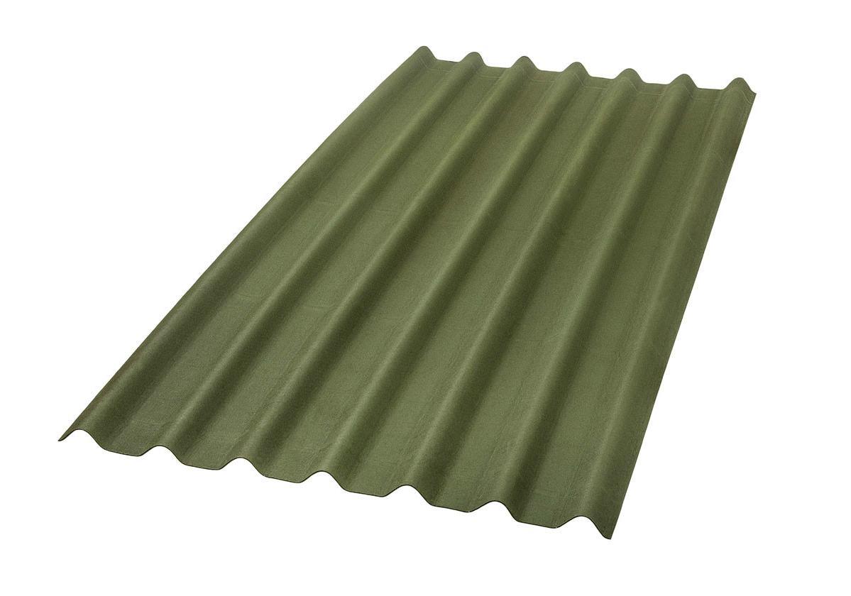 Onduline Stilo® | foto de  telha ecológica na cor verde
