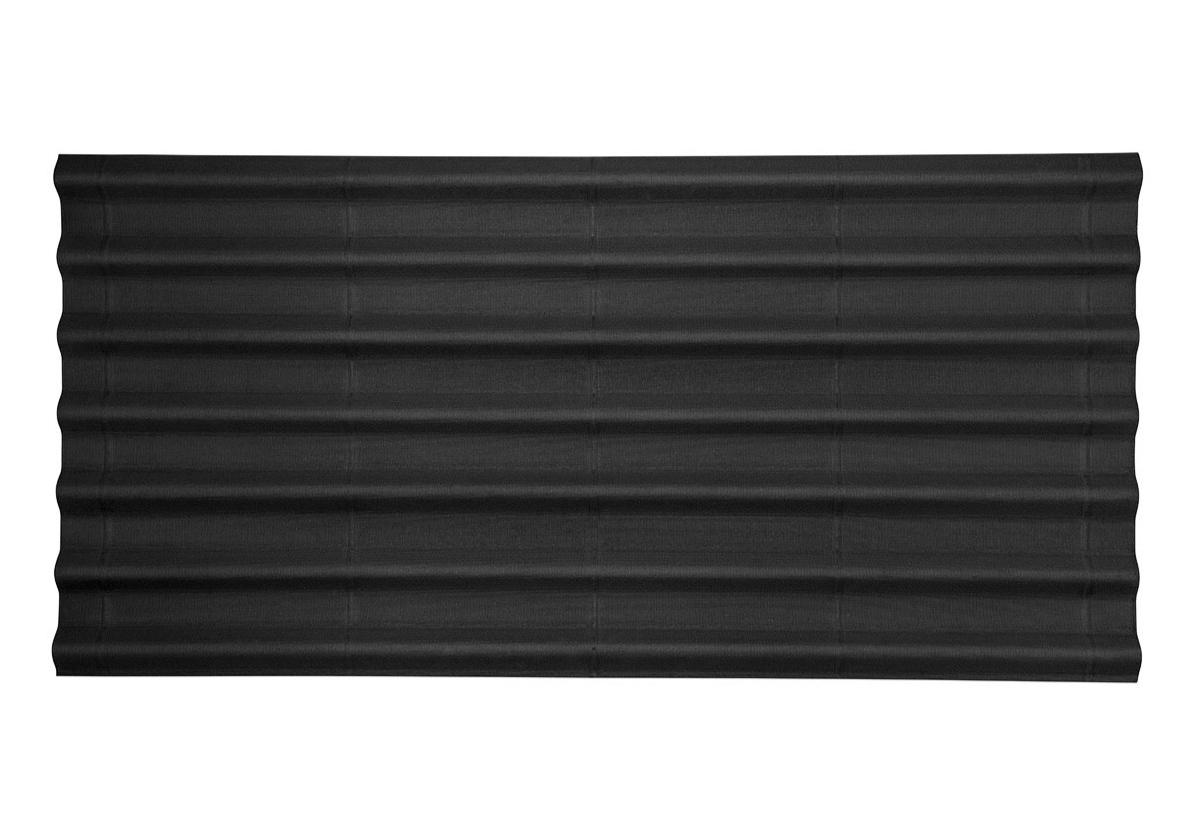 Onduline Stilo® | foto de telha ecológica na cor preta