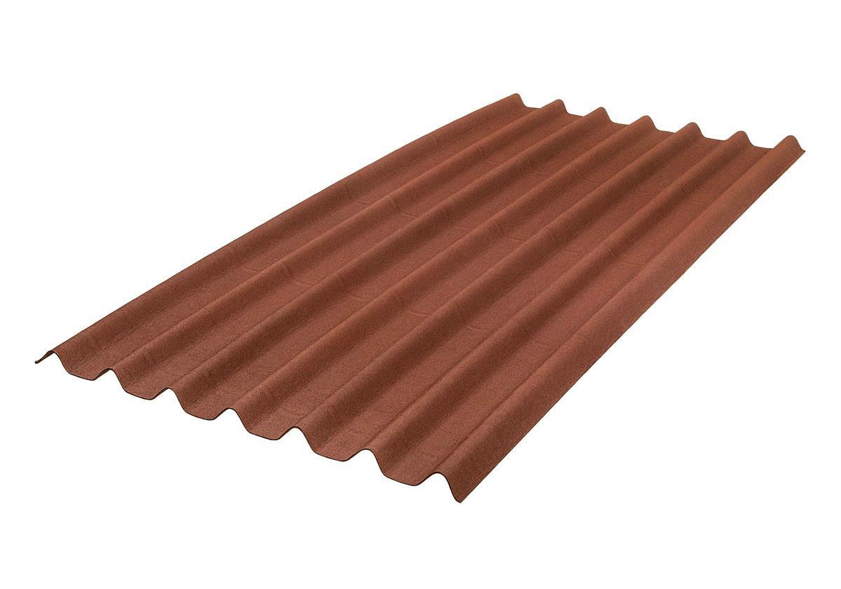 Onduline Stilo® | foto de  telha ecológica na cor vermelha