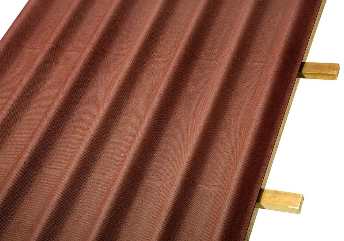 Onduline Stilo® | foto de detalhe da telha ecológica na cor vermelha