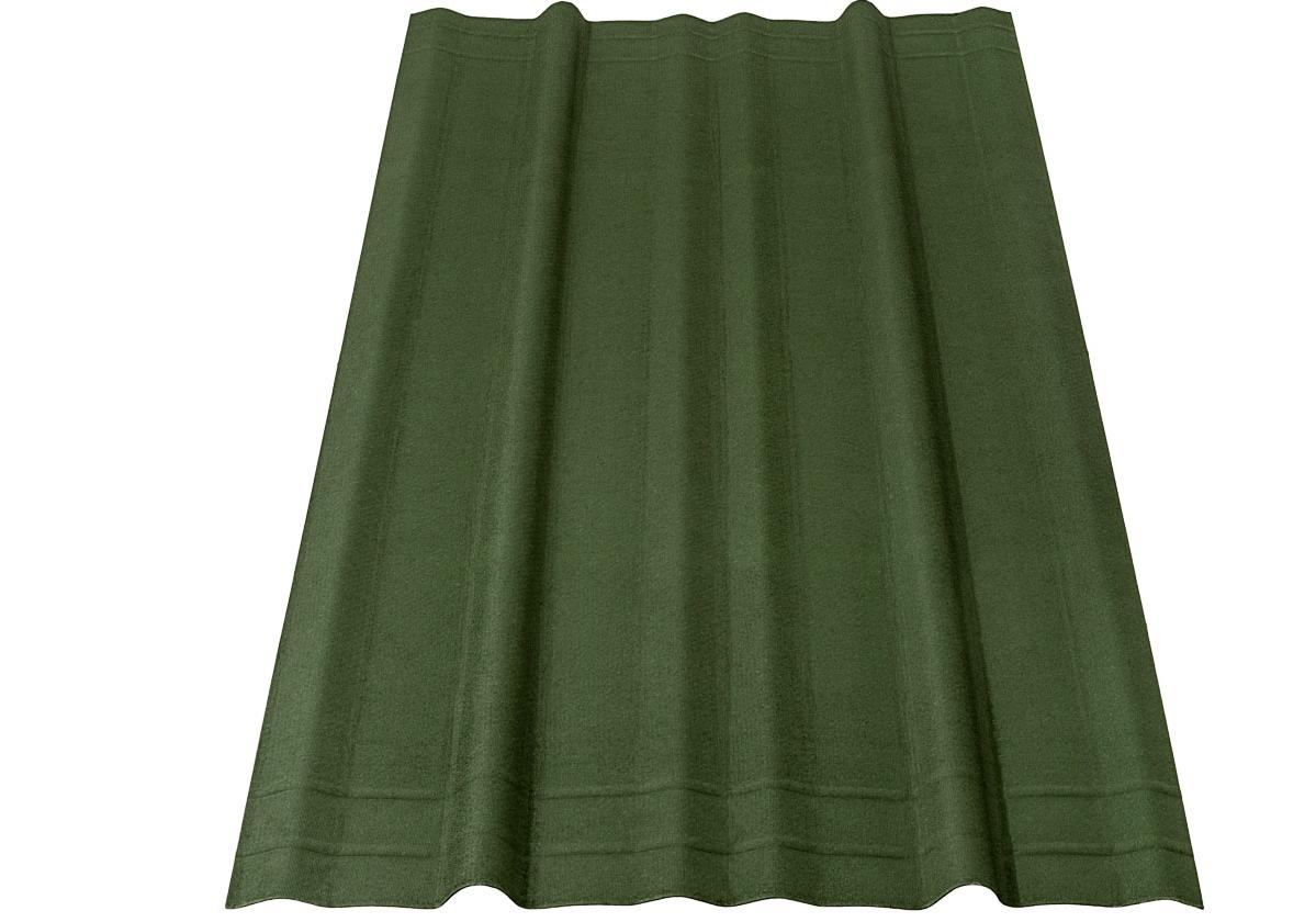 Tapume Ecológico Onduline® | foto de tapume ecológico na cor verde