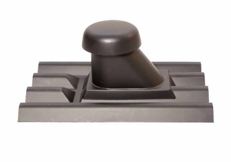 Foto da Telha Tubo de Ventilação Onduline na cor preta