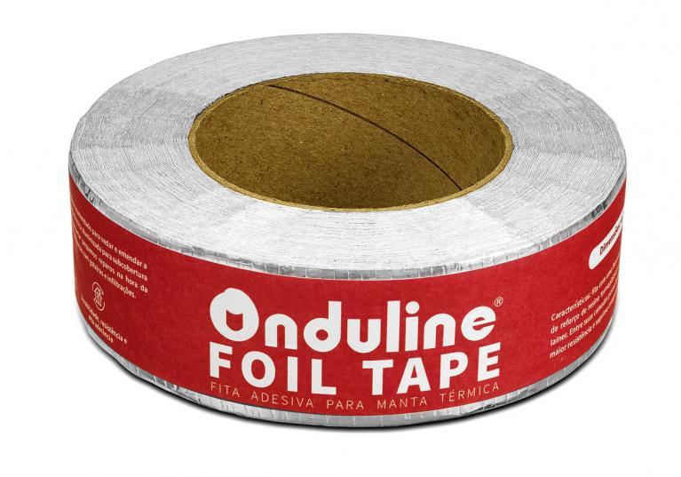 Fita Adesiva Aluminizada Onduline Foil Tape